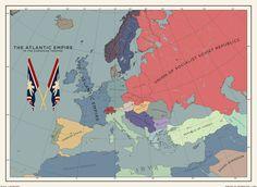 Fantasy Map Generator, Imaginary Maps, Alternate History, Fictional World, Historical Maps, Genre, Still Image, Flags, Cards