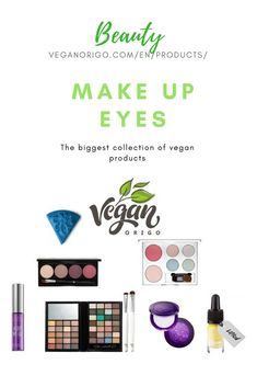 Vegan and cruelty free beauty, make up products