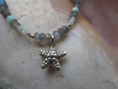 Ocean Collection Laboradite and Fine Silver by LifeisBalance, $85.00