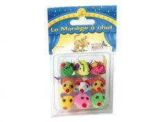 Jouet Petite Souris - Pack de 9. A partir de 7,50€