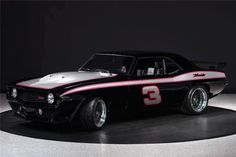 Nice Tribute to Dale Earnhardt, Sr. / 69 Chevy Camaro SS