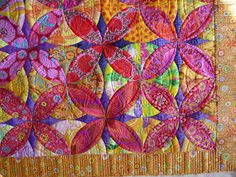 Sewing & Quilt Gallery: Old Traditional Pattern with Bold Modern Prints