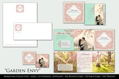 'Garden Envy' complete Business marketing kit for Professional Photographers  photoshop templates