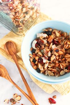 Happy Paleo Granola. Yummy for breakfast. Yummy for lunch. Yummy for everything!