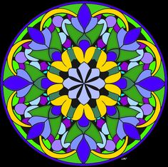 "For this coloring page, see Mandala 677 on my other board ""Mandala Coloring Pages."""