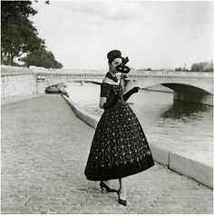 Paris. Dior, 1950s.