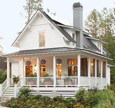 70 stunning farmhouse exterior design ideas (6)