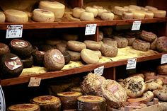 Pecorino cheese from Pienza, Italy. So good!