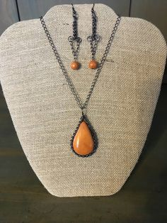 A personal favorite from my Etsy shop https://www.etsy.com/listing/265699098/burnt-orange-matching-set