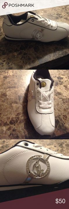BABY PHAT SHOES White size 9 baby phat shoes. Never worn but with no tags. Baby Phat Shoes Sneakers