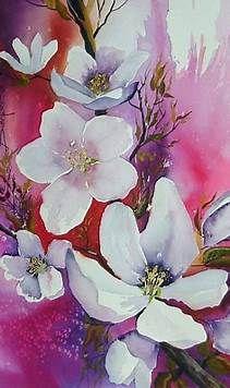 Résultat d'images pour easy watercolor paintings for beginners