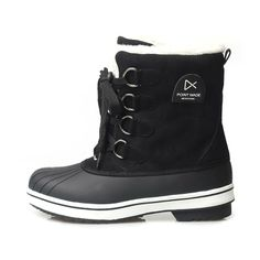 Point Made Himalaya Duck Boots_Black