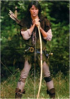 ~ Wake Up !  You've slept too long. ~  Robin of Sherwood - great series and with the lovely Michael Praed.