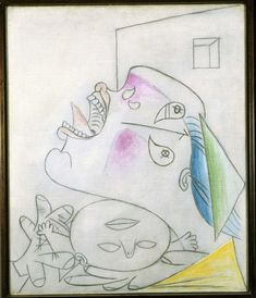 Madre con niño muerto (I). Postscripto de «Guernica»