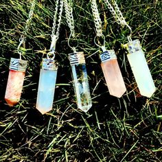 Sun Stone, Moon Stone, Clear Quartz, Rose Quartz, Moon Stone Healing Crystals. by IISolsticeStoreII on Etsy