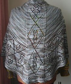 Ravelry: Faro Easy pattern by Wendy D. Johnson,  A warmer shawl for heat and not just show.