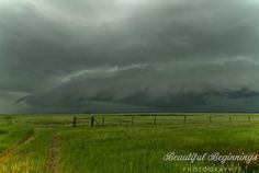 """500px / Photo """"Rotating Wall Cloud"""" by Diane Hammerling"""