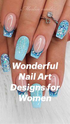 Nagellack Design, Pink Acrylic Nails, White Coffin Nails, Pretty Nail Art, Nagel Gel, Stylish Nails, Classy Nails, Simple Nails, Fancy Nails