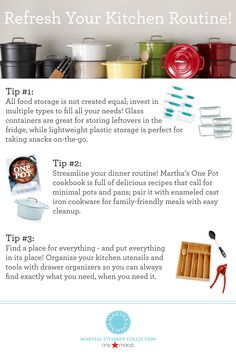 Our top tips for refreshing your kitchen, just in time for fall!