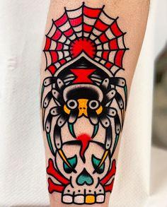 By our resident tattooist @javier_rodrigueztattoo  Book: javierrodrigueztattoo@gmail.com  #tattoo #sangbleulondon #traditionaltattoo #colourtattoo #javierrodrigueztattoo #dalstontattoo #sangbleutattoo Javier Rodriguez, Colour Tattoo, East London, Traditional Tattoo, Tattoo Studio, Creative Director, Blackwork, Tattoo Artists, Singing