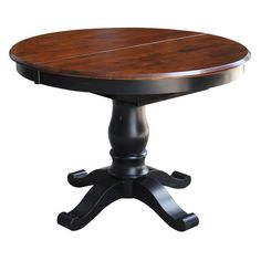 International Concepts 42 in. Round Top Pedestal Table - K36-T242XBT