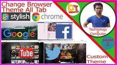 how to use stylish on google chrome,change youtube homepage theme