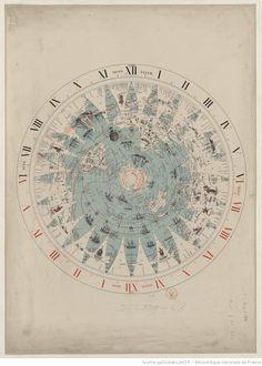 Planisphère rationnel / par Callier, ...