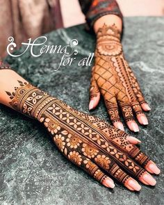 Mehndi is used for decorating hands of women during their marriage, Teej, Karva Chauth. Here are latest mehndi designs that are trending in the world. Easy Mehndi Designs, Henna Hand Designs, Dulhan Mehndi Designs, Latest Mehndi Designs, Mehndi Designs Finger, Mehndi Designs For Girls, Mehndi Designs For Fingers, Mehndi Design Photos, Wedding Mehndi Designs