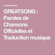 10 Idées De Musique Musique Chanson Traduction Musique
