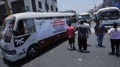 El Chosicano ha realizado paros y marchas en las últimas semanas contra la Municipalidad de Lima. (Perú21)