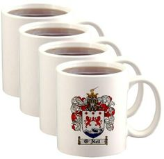 O'Neil Coat of Arms / Family Crest Mugs $46.99