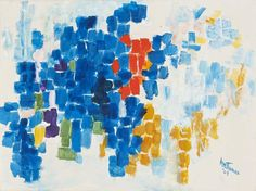 Alma Thomas: Moving Heaven & Earth Paintings and Works on Paper, 1958-1978 - Exhibitions - Michael Rosenfeld Art