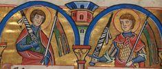 Manuscript WLB HB II 24 Psalterium non feriatum Folio 173v Dating 1210-1213 From Hildesheim, Germany Holding Institution Württembergische Landesbibliothek