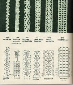 Crochet ribbons