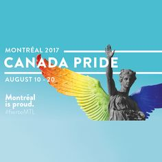 The first-ever Fierté Canada Pride starts today in Montreal: Bonne Fierté / Happy Pride Canada! #FCP http://fiertecanadapride.org/