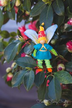 Fairy Boy - Forest Fairy Crafts - Journal - Fairies for GoodCauses
