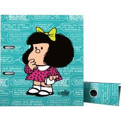 Archivador de Palanca de #Mafalda 2016  #oficina #escolar #materialescolar #Grafoplás #diseño #comic #viñeta