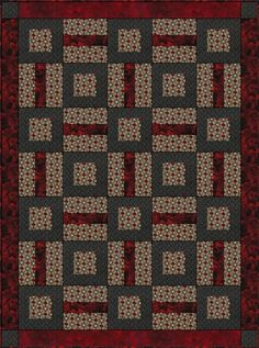 Puzzle Me This  3 Yd Quilt Pattern