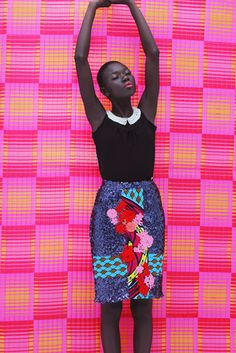 FAB Lookbook: Nigerian Fashion Brand, Design For Love Presents Spring/Summer 2014 Pop Art Collection