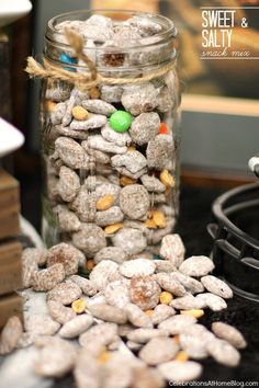 This sweet-salty snack mix is terrific for adults or kids. It also travels well for tailgate parties or school lunches.