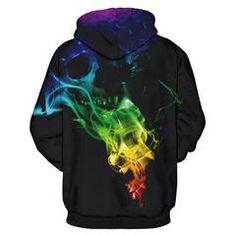 Silent Whisper 3D Skull Hoodie #skull #skullhoodie #hoodie #fashion