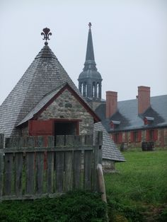 Fortress Louisburg. --  Cape Breton, Nova Scotia...the largest reconstruction of any kind in North America.