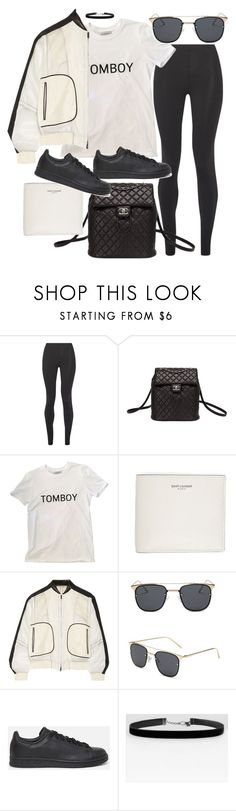 """""""Untitled #20253"""" by florencia95 ❤ liked on Polyvore featuring Live The Process, Chanel, Yves Saint Laurent, Reed Krakoff and adidas Originals"""