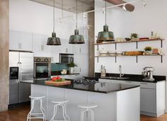 See more images from a must-see modern farmhouse on domino.com