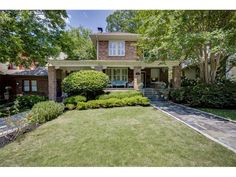 1146 Briarcliff Place NE - Excellent location, short stroll to shops & restaurants. Heart of Virginia Highland w/ legendary charm & character! Magnificent caliber home custom addition of modern amenities; expansive great rm & gourmet kitchen La Cornue range, vaulted screened porch & deck. Luxurious master ste w/ spa-like bath & 2 LG walk-ins.