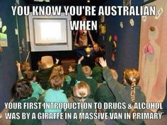 What no?! I didn't get it learn about drugs from a giraffe in a van. I wasn't even taught about drugs