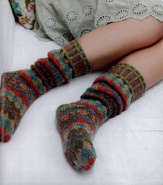 Maggie's Crochet · Country Weekend Socks #knit #pattern #traditional #British…