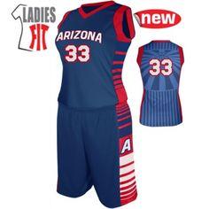 499 | Attack Set - Ladies Basketball Uniforms - Inside Basketball - Basketball