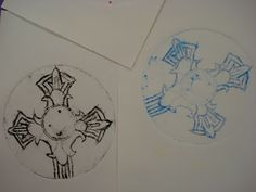 Amy's Artsy Adventures: CD Printmaking