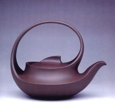 red ware teapot. Author unknown.